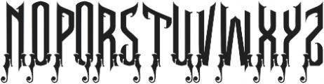 Seahorse Typeface otf (400) Font UPPERCASE