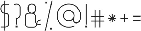 Sean Sans ttf (400) Font OTHER CHARS