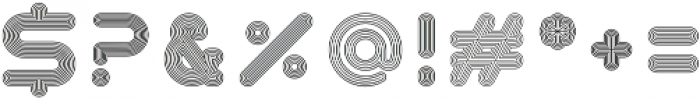 Season Sans Multiply otf (400) Font OTHER CHARS