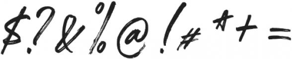 SeasonedDreamer otf (400) Font OTHER CHARS