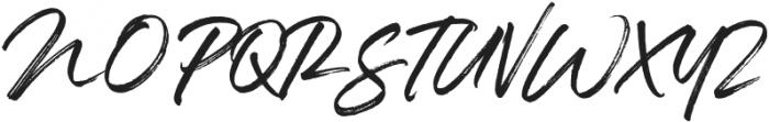 SeasonedDreamer otf (400) Font UPPERCASE