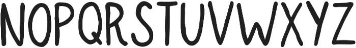 Seattle Bold otf (700) Font LOWERCASE