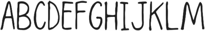 Seattle Regular otf (400) Font UPPERCASE