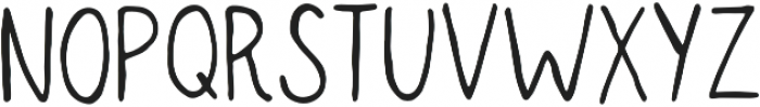 Seattle Regular otf (400) Font LOWERCASE