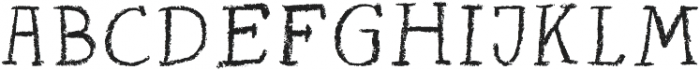 Seb2 Regular otf (400) Font UPPERCASE