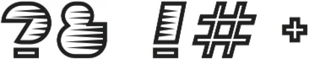Sebasengan Spine otf (400) Font OTHER CHARS