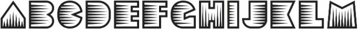 Sebasengan Spine otf (400) Font LOWERCASE