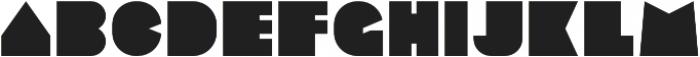 Sebasengan otf (400) Font LOWERCASE