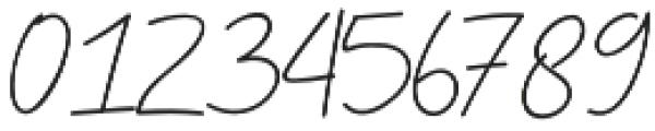 Sebastrian Script otf (400) Font OTHER CHARS