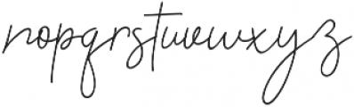 Sebastrian Script otf (400) Font LOWERCASE