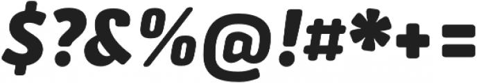 Secca Soft Black Italic otf (900) Font OTHER CHARS