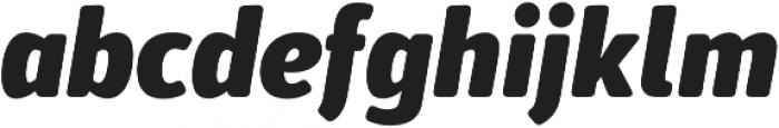 Secca Soft Black Italic otf (900) Font LOWERCASE