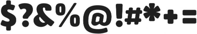 Secca Soft Black otf (900) Font OTHER CHARS