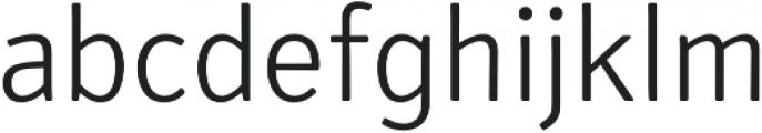 Secca Soft Light otf (300) Font LOWERCASE
