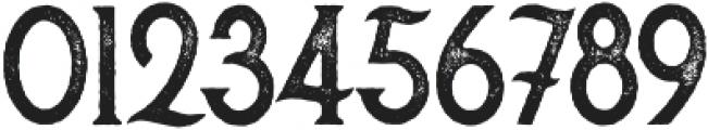 Secret Society Aged otf (400) Font OTHER CHARS