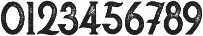 Secret Society Bold - Aged otf (700) Font OTHER CHARS