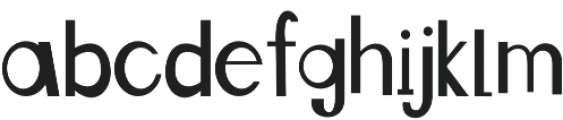 See You Later Alligator otf (400) Font LOWERCASE