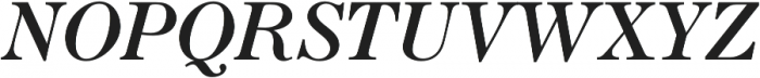 Seizieme Pro Regular Italic otf (400) Font UPPERCASE