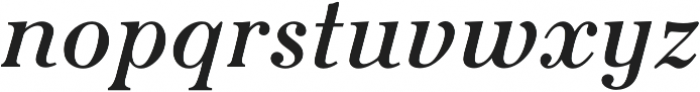 Seizieme Pro Regular Italic otf (400) Font LOWERCASE