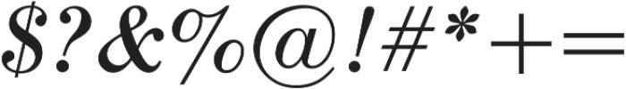 Seizieme Pro Regular Italic ttf (400) Font OTHER CHARS