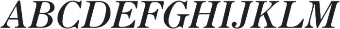 Seizieme Pro Regular Italic ttf (400) Font UPPERCASE