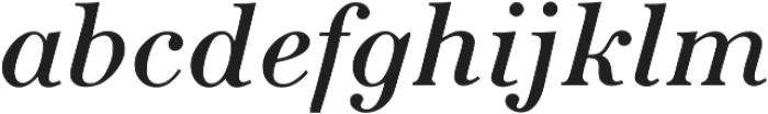 Seizieme Pro Regular Italic ttf (400) Font LOWERCASE