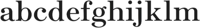 Seizieme Pro Regular otf (400) Font LOWERCASE