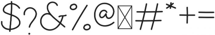 Sekira Regular otf (400) Font OTHER CHARS