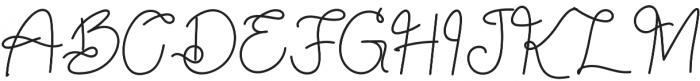 Sekira Regular otf (400) Font UPPERCASE