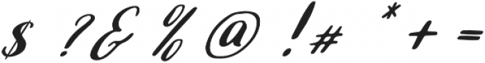 Selena otf (400) Font OTHER CHARS