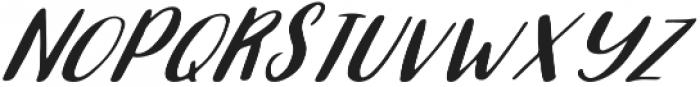 Selena otf (400) Font UPPERCASE