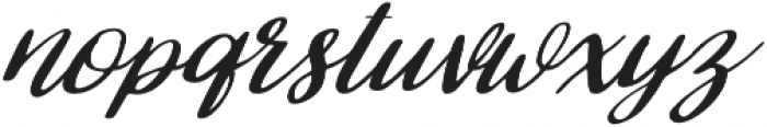 Selena otf (400) Font LOWERCASE