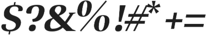 Selma regular-italic otf (400) Font OTHER CHARS