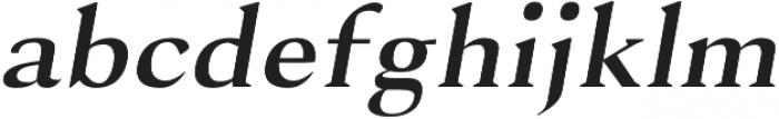 Selma regular-italic otf (400) Font LOWERCASE