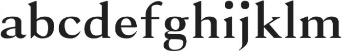 Selma regular otf (400) Font LOWERCASE