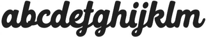 Selphia Selphia Script otf (400) Font LOWERCASE
