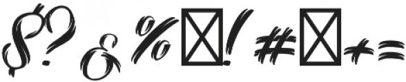 Selvedger Lettering otf (400) Font OTHER CHARS