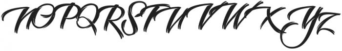 Selvedger Lettering otf (400) Font UPPERCASE