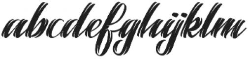 Selvedger Lettering otf (400) Font LOWERCASE
