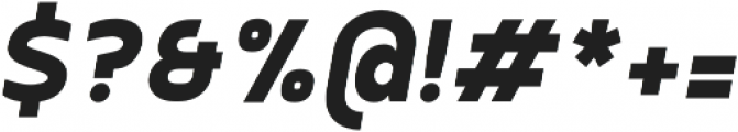 SemiLight otf (300) Font OTHER CHARS