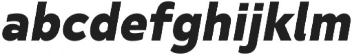 SemiLight otf (300) Font LOWERCASE