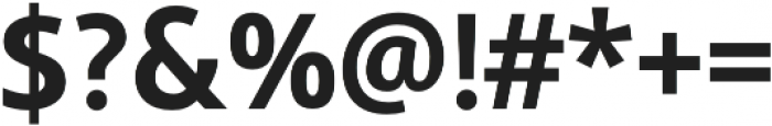 Semikolon Classic Bold otf (700) Font OTHER CHARS