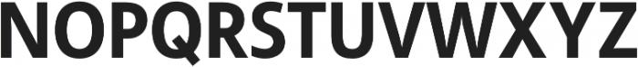 Semikolon Plus Bold otf (700) Font UPPERCASE