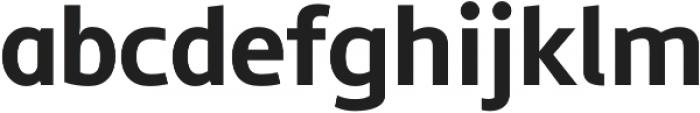 Semikolon Plus Bold otf (700) Font LOWERCASE