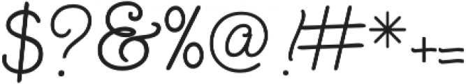 SendFlowers otf (400) Font OTHER CHARS