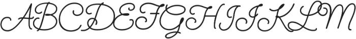 SendFlowers otf (400) Font UPPERCASE