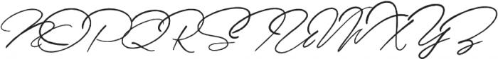 Senja Script otf (400) Font UPPERCASE