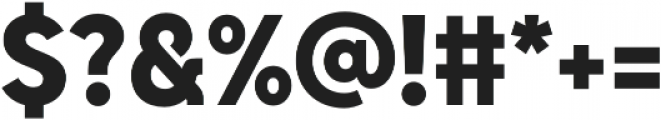 Senkron Black otf (900) Font OTHER CHARS