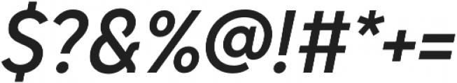 Senkron Blok Medium Obl otf (500) Font OTHER CHARS