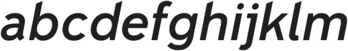 Senkron Blok Medium Obl otf (500) Font LOWERCASE